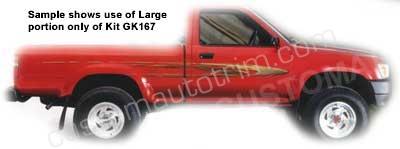 Car Graphic Kit GK167