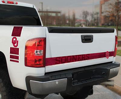 University of Oklahoma Sooners Car Graphics CPS-UOK