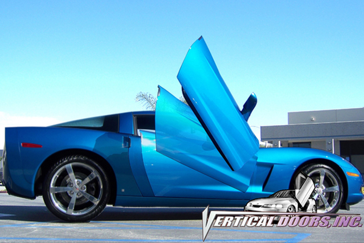2014 Up Chevy Corvette C7 Lambo Doors Vdcchevycorc714