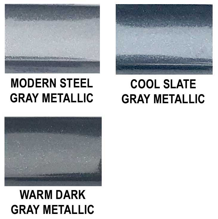 Universal Factory Style Body Side Molding w/ Angled Ends in Colors.