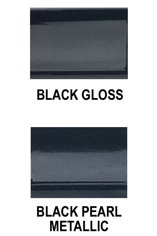 Universal Factory Style Body Side Molding w/ Pointed Ends in Colors.