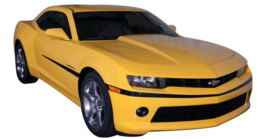 2014 2015 Chevy Camaro Mustache Stripe Cgk Cam14ms
