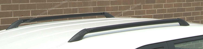 Universal Aventura Roof Side Rails - Black