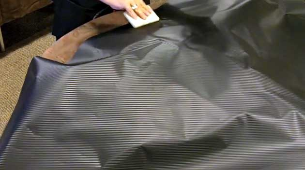 Carbon Fiber Wrap is Flexible, Bonds to Flat or Curved Surfaces