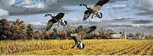 Game Birds Rear Window Graphics RWG1030