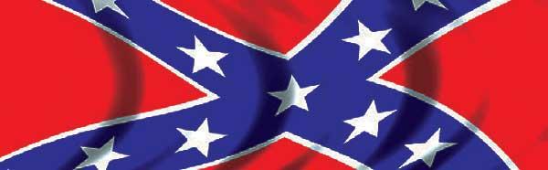 Confederate Flag Rear Window Graphic