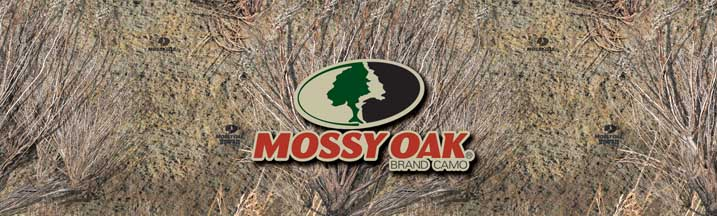 Mossy Oak Brush with Logo Rear Window Graphic