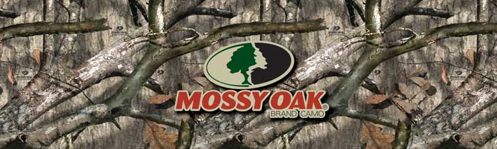 Mossy Oak Tree Stand with Logo Rear Window Graphic
