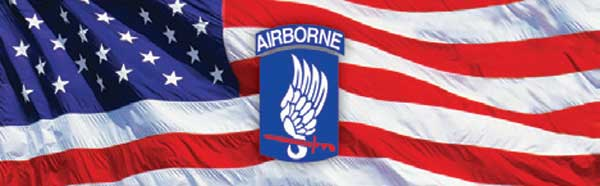 173RD AIRBORNE BRIGADE and Flag Rear Window Graphic