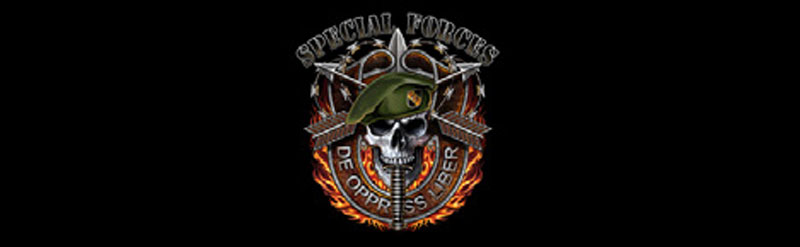 Special Forces Military Rear Window Graphic