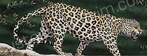 Preying Leopard Rear Window Graphic